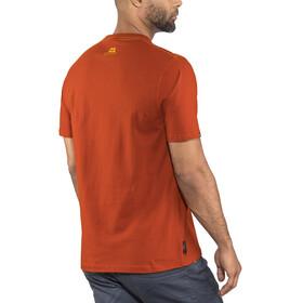 Mountain Equipment Prism Bluzka z krótkim rękawem Mężczyźni czerwony